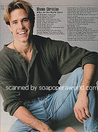 FYI with Shawn Christian (Mike on As The World Turns)