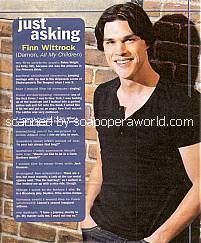 Just Asking with Finn Wittrock (Damon on All My Children)