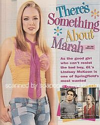 Interview with Lindsey McKeon (Marah on Guiding Light)