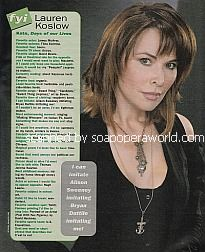 FYI with Lauren Koslow (Kate on Days Of Our Lives)