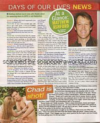 At A Glance with Matthew Ashford (Jack Deveraux on Days Of Our Lives)