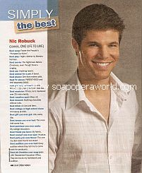 Simply The Best with Nicolas Robuck (James Ford on One Life To Live)
