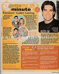 Gotta Minute? with Galen Gering of Passions