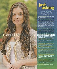 Just Asking with Jessica Heap (Eden on The Young and The Restless)