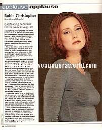 Robin Christopher (Skye, GH)