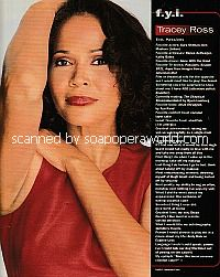 FYI with Tracey Ross (Eve on Passions)