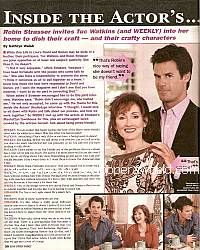 Interview with Robin Strasser & Tuc Watkins (Dorian & David on One Life To Live)